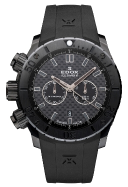 Edox Mens 10304 37N2 GIN Iceshark III Limited Edition Chronodiver Watch