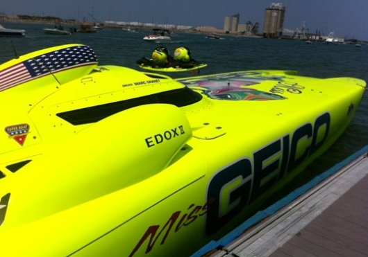 Miss Geico Superboat