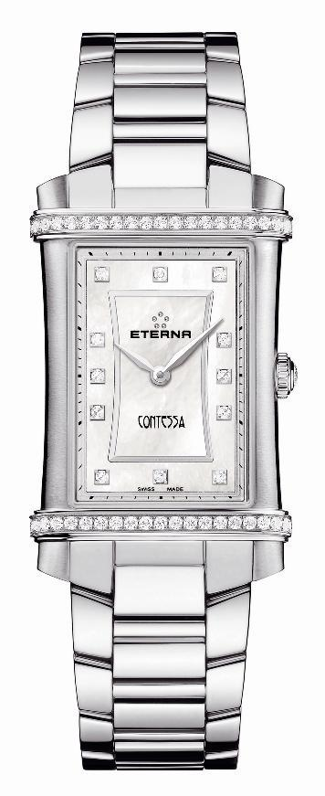 Eterna Ladies 2410.48.67.0264 Contessa Two-Hands Watch