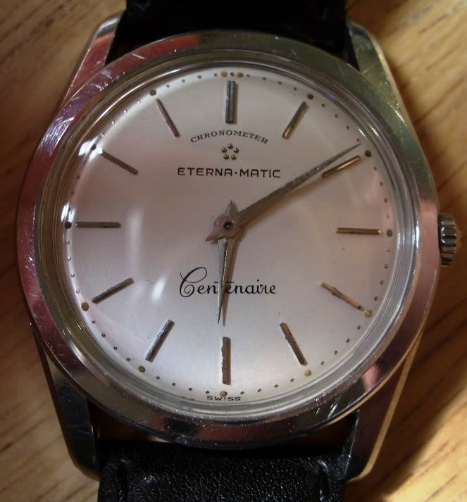 Vintage Eterna-matic Cetenaire Chronometer