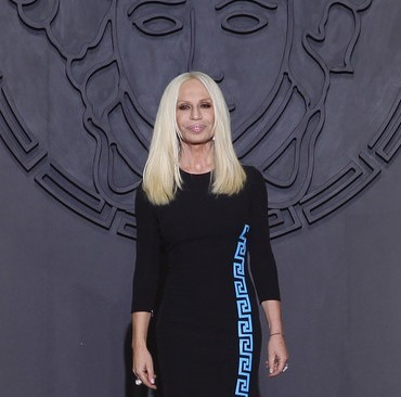 Donatella Versace Fashion