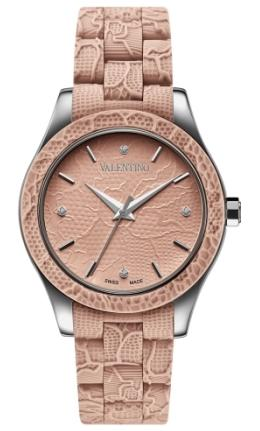 Valentino Designer Watches - V57MBQ9R97IS111 Ladies Lace