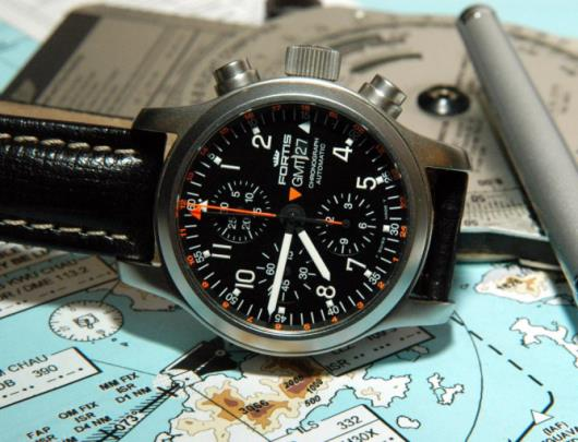 Fortis B-42 Pilot Professional Chronograph Watch