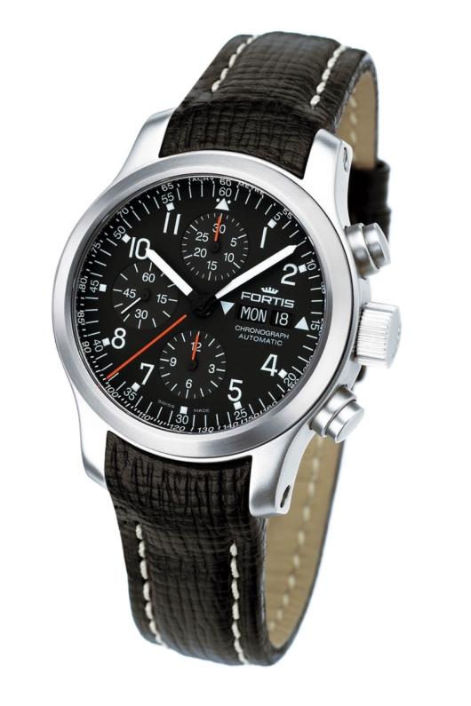 Fortis B-42 Pilot Professional Chronograph Watch ...