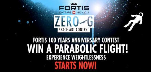 Fortis Zero-G Space Art Contest