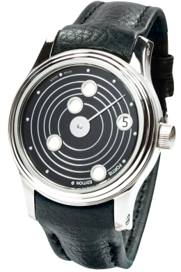 Fortis Mens 677-20-31-L01 B-47 Collection Mysterious Planets New Limited Edition Black Dial Watch