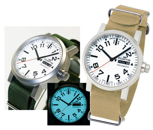 Fortis Unisex 623.22.42 Spacematic Limited Edition 2012 Day/Date Automatic Luxury Swiss Watches