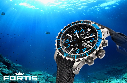 Fortis Aquatis Watch Collection - 671.15.45