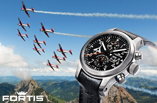 Fortis Aviatis Watch Collection - 635.10.91