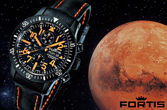 Fortis Cosmonautis Watch Collection - 638.28.13