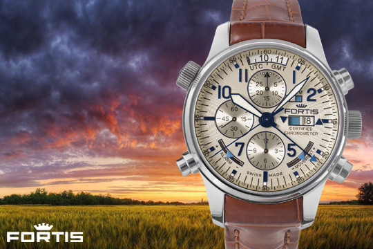 Fortis Daybreaker Watch Collection - 703.20.92