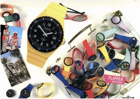 Colorful Assortment of Fortis Flipper Watches