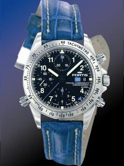 Fortis Impression Alarm Chronograph Watch