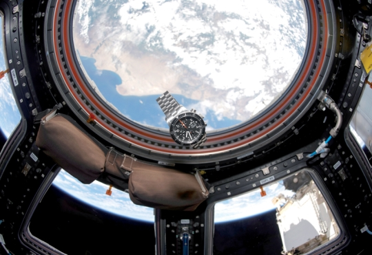 Fortis Watch in Space