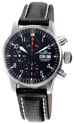 Fortis Mens 597.11.11.L01 Flieger Automatic Chronograph