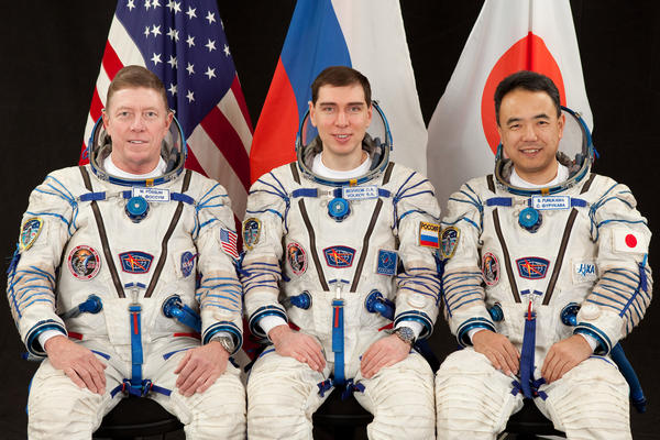 International Space Station Crew 28 Posing
