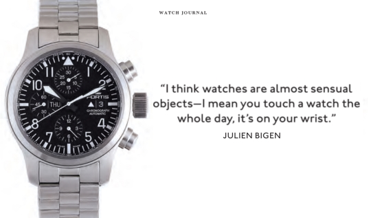Watch Journal Features Fortis and Rolex