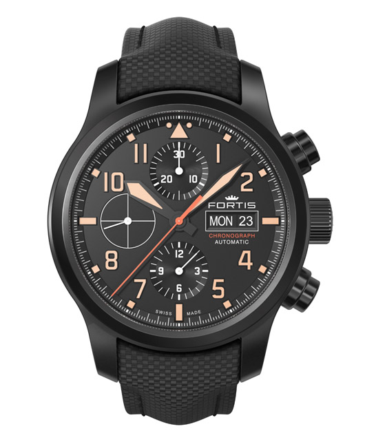 Fortis 656.18.18 Aeromaster Stealth Chronograph