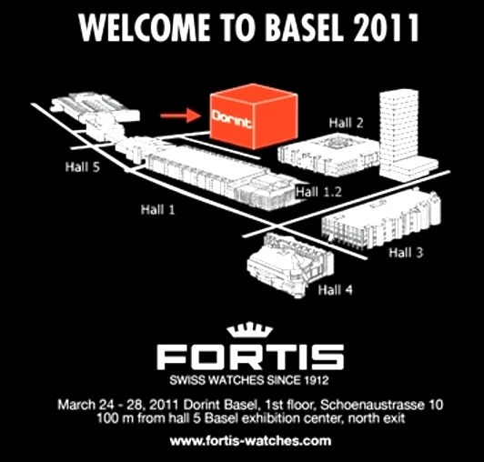 Fortis Watches in Basel - March 24-31, Dorint Basel