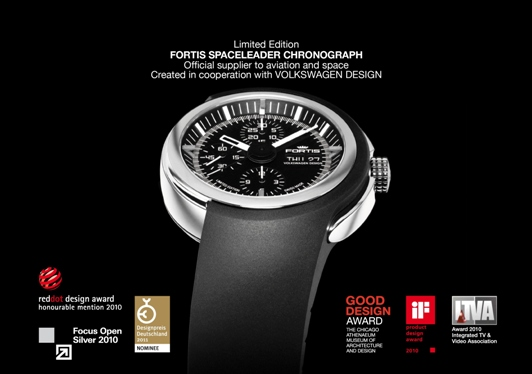 Fortis Watches in Basel - March 24-31, Award Winning Fortis Spaceleader Chronograph