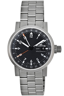 Fortis Mens 624.22.11 M Spacematic GMT Watch
