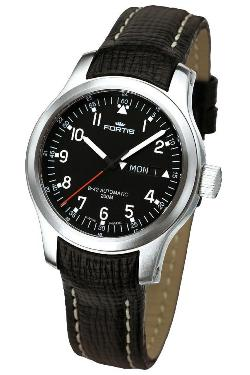 Fortis Mens 645.10.11 L01 B-42 Pilot Professional Day/Date Watch