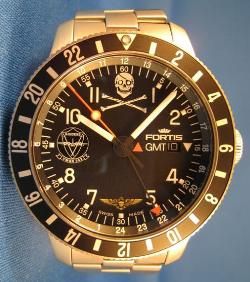 Fortis B-42 Cosmonaut GMT Raider 352 Squadron Watch