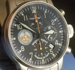 Fortis B-42 Pilot Professional Hungarian Air Force Squadron Watch