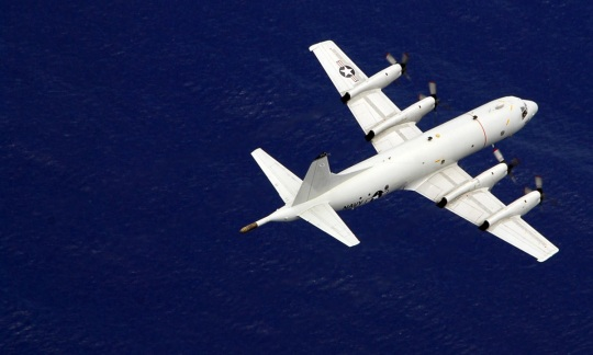 P-3C Orion Aircraft Assigned to the Fighting Marlins of Patrol Squadron Forty