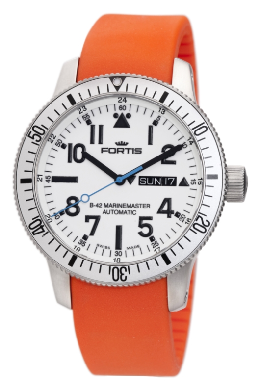 Fortis 647.11.42 Si.20 B-42 Marinemaster Day Date
