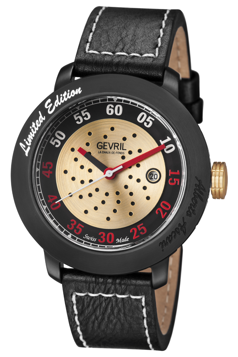 Limited Edition Birthday Collection: Gevril Alberto Ascari Limited Edition Watch Collection