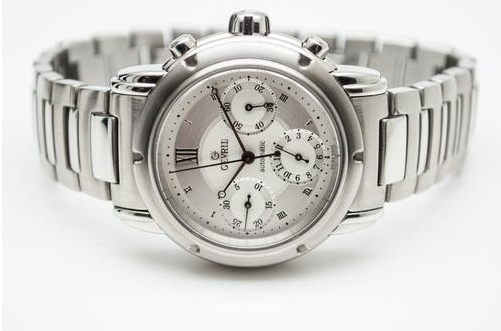Gevril First Generation Stainless Steel Chronograph