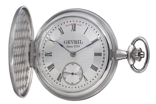 Gevril G63099556 1758 Pocket Watch