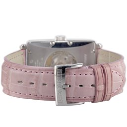 Gevril Ladies 6208RV Avenue of Americas Glamour Automatic Pink Diamond Watch - Back View