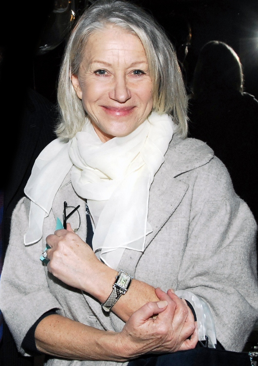 Helen Mirren Wearing Gevril Watch