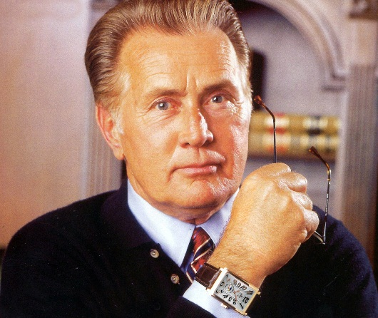 Martin Sheen Sporting His Gevril 'Avenue of Americas' Timepiece