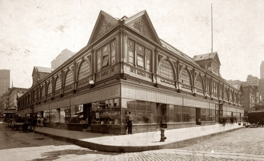 Old Washington Market in Tribeca