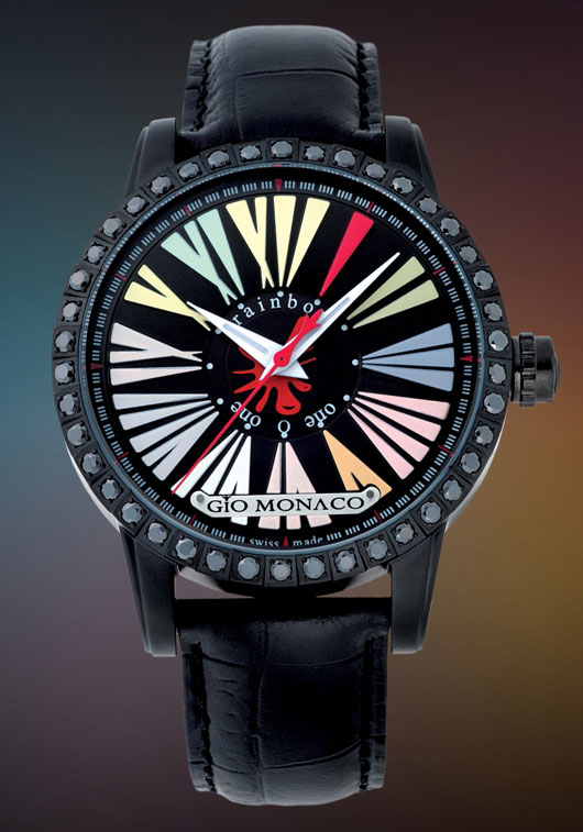 Gio Monaco Men's Rainbow Collection Introduced at Baselworld 2012