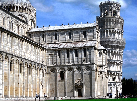 Leaning Tower of Pisa Tuscana Italy
