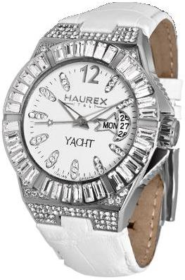 Haurex Ladies 8S340DWW YACHT FULL STONES Fashion Watch
