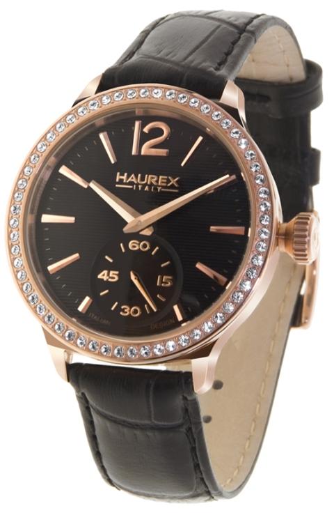Haurex ladies fh341dnh grand class crystal bezel watch fashion watches for Haurex watches