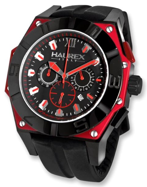 Haurex mens 3n364unr challenger rs black dial date watch men 39 s watches for Haurex watches