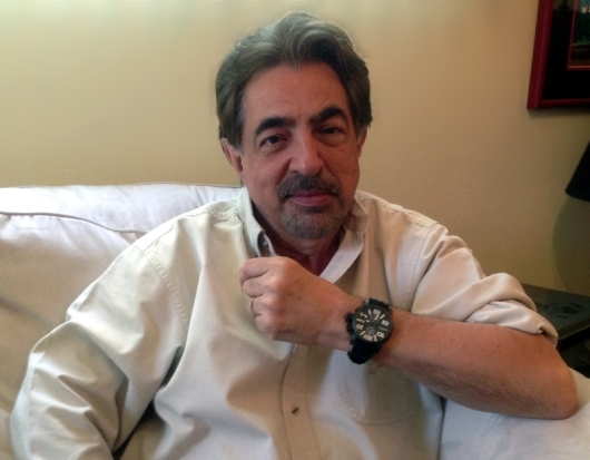 Joe Mantegna Wearing an Haurex 6N506UWN Turbina II Watch