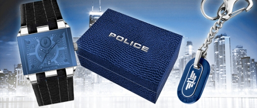 POLICE Mens PL 12551JS/03 Prowler Limited Edition 2010 Christmas Gift Set