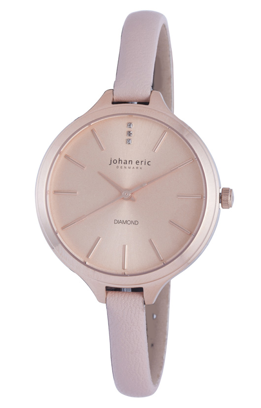 Johan Eric Ladies JE2100-09-001.9 Herlev Slim Danish Designer Watch