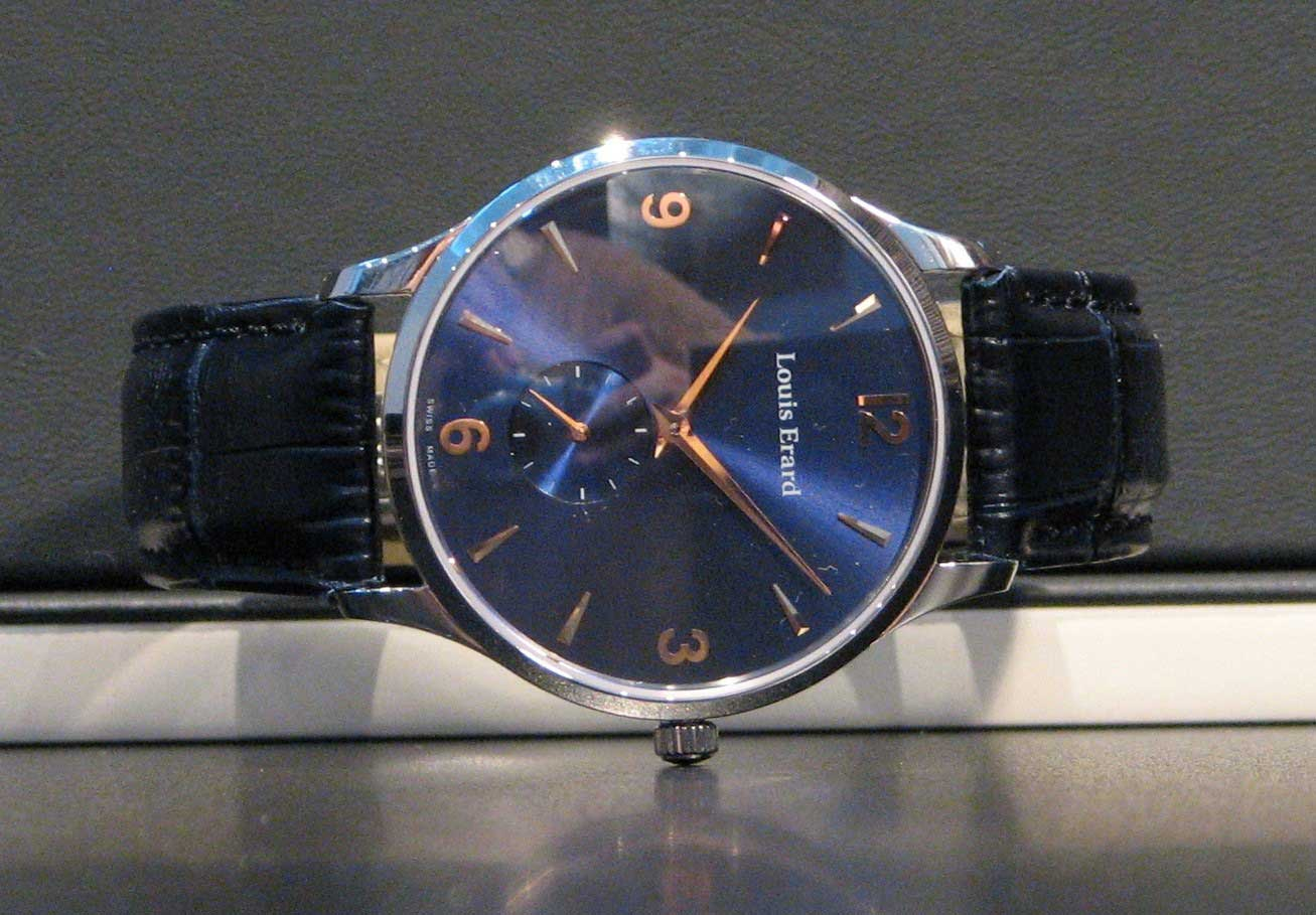 Louis Erard 1931 Small Seconds Collection - Blue