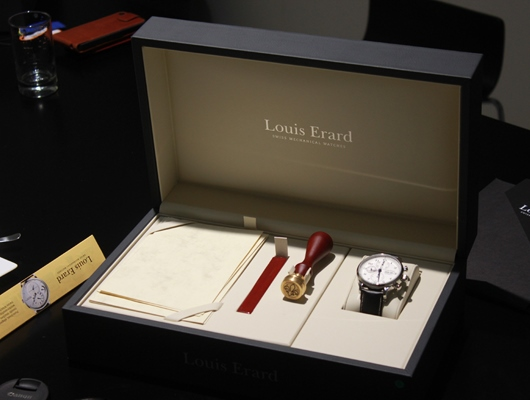 Louis Erard 1931 Vintage Chronograph Presentation Box