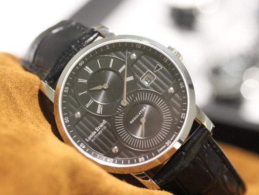 Louis Erard Excellence Regulator Baselworld 2015