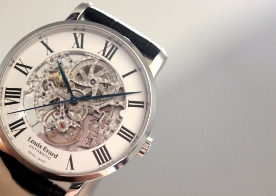 Louis Erard Excellence Skeleton Baselworld 2015