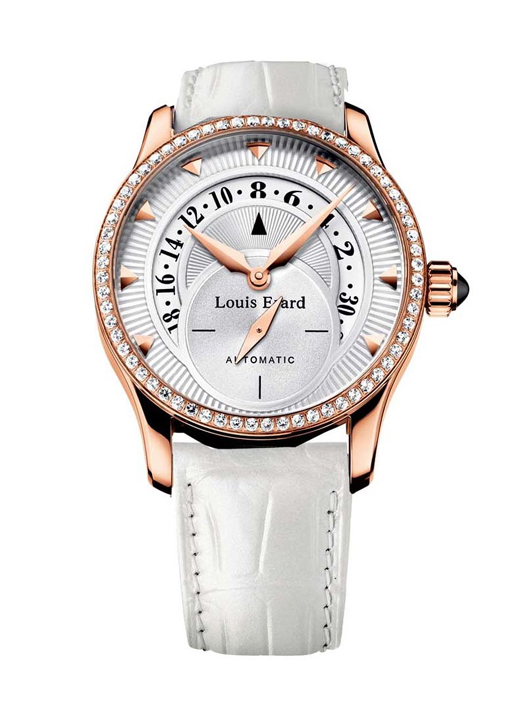 Louis Erard 92600OS11.BACS5 Women's Emotion Automatic Rose Gold Diamond Watch